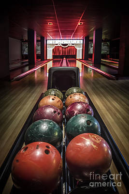 Bowling Ball Posters