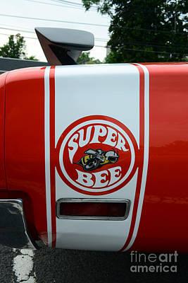 1970 Dodge Super Bee Rear Quarter Panel Posters
