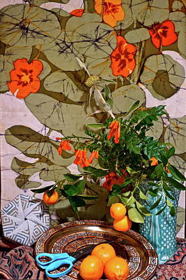 Still Life With Tangerines Photographs Posters