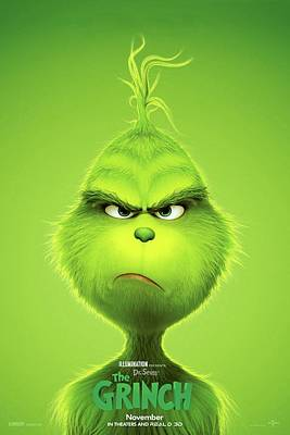 Designs Similar to The Grinch, 2018 B