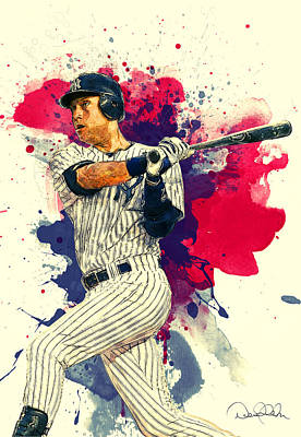Roberto Clemente Paintings Posters