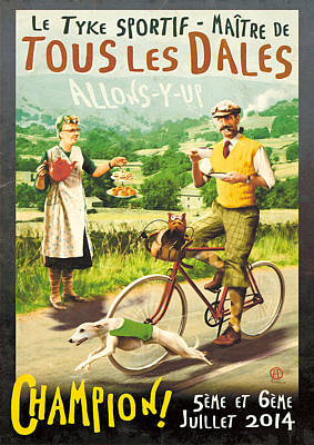Yorkshire Dales Digital Art Posters