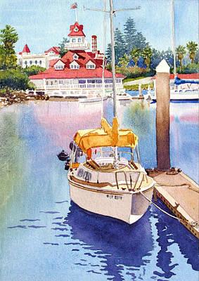 Yellow Sailboats Posters