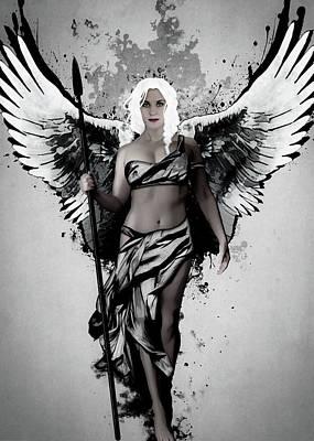 Angel Digital Art Posters