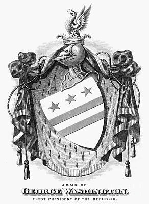 Coat Of Arms Of George Washington Posters