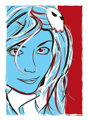 Teen Digital Art Posters