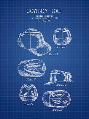 Baseball Cap Digital Art Posters