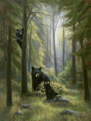 Black Bear Cubs Posters