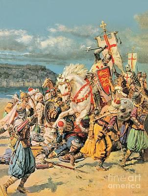 St George Paintings Posters