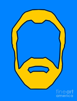 Beard Digital Art Posters
