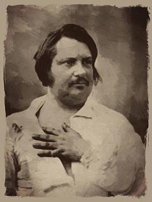 Balzac Digital Art Posters
