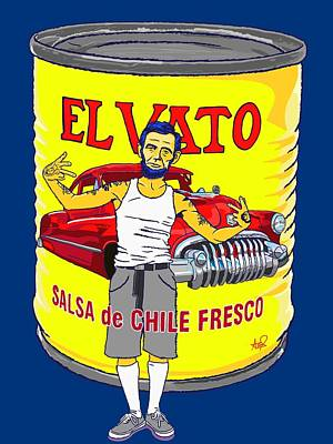 Vato Drawings Posters