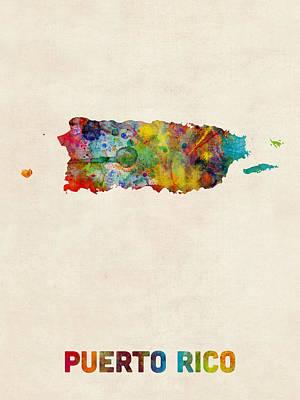 Caribbean Digital Art Posters
