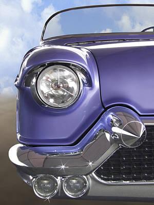 Purple Car Posters