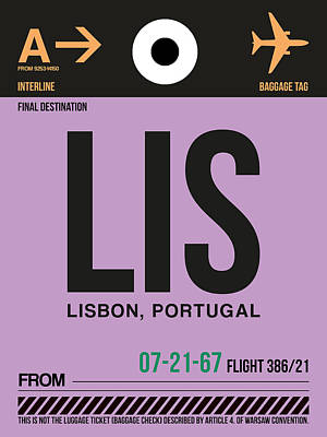 Lisbon Digital Art Posters