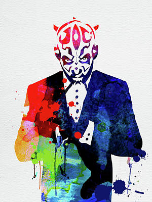 Designs Similar to Maul In A Suite Watercolor