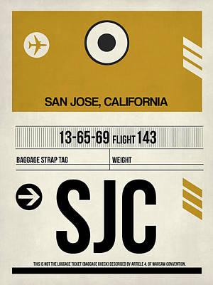 San Jose Digital Art Posters