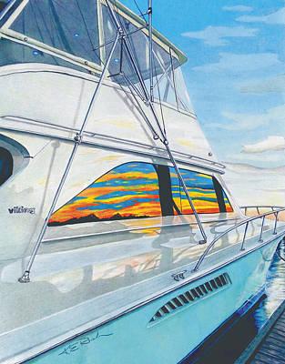 Sailfish Drawings Posters