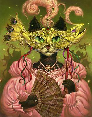 Kitten Digital Art Posters