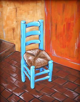 Ladderback Chair Paintings Posters