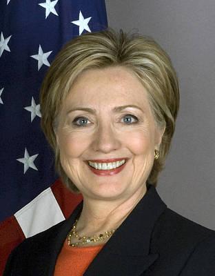 Hillary Clinton Mixed Media Posters