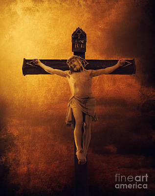 Crucifix Photographs Posters