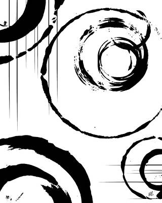 Abstract Shapes Drawings Posters