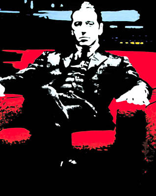 Films About Gangsters Paintings Posters