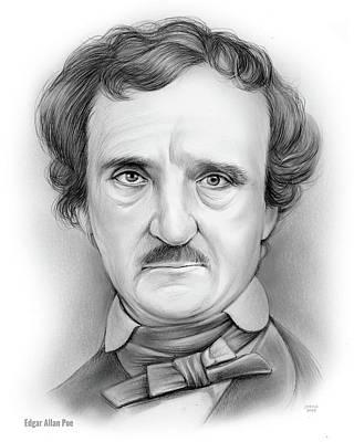 Poe Drawings Posters