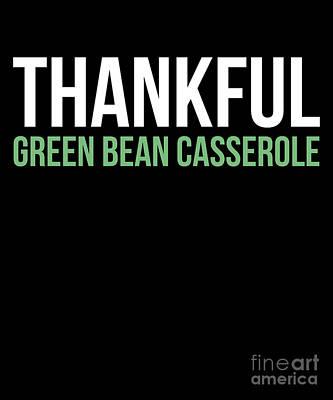 Green Bean Casserole Posters