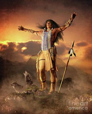 Spiritual Warrior Posters