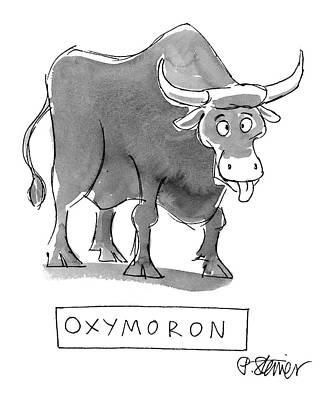 Oxymoron Posters