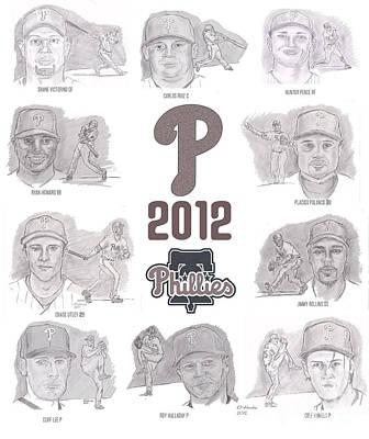 Placido Polanco Drawings Posters
