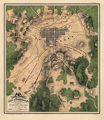 Civil War Park Posters