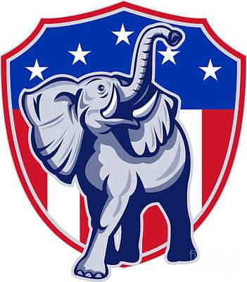 Republican Party Digital Art Posters