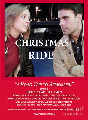 Christmas Ride Karen Francis Posters