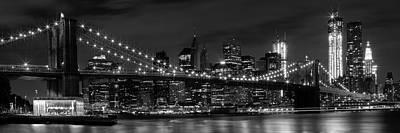 Brooklyn Bridge Digital Art Posters