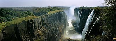Zambia Waterfall Posters