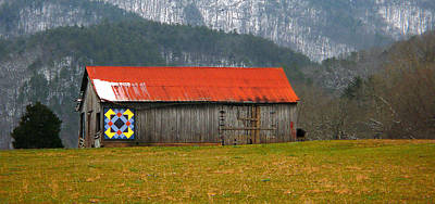 Painted Barn Quilt Posters