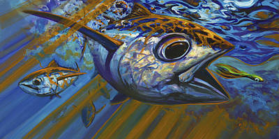 Tuna Paintings Posters