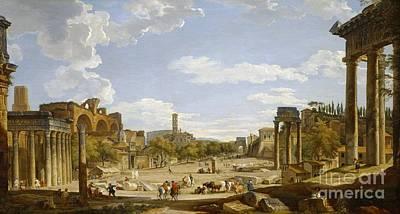 Roman Forum Posters