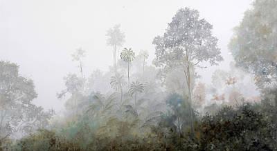 Fog Mist Paintings Posters