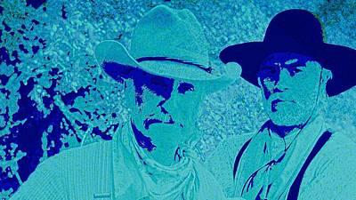 Texas Rangers Digital Art Posters