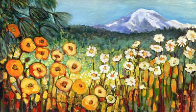 Meadow Paintings Posters