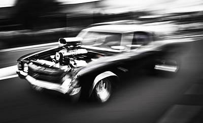 Speeding Chevrolet Posters