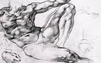 Michelangelo Drawings Posters