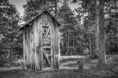 Outhouse Photographs Posters