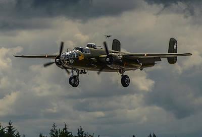 North American B-25j Mitchell Posters