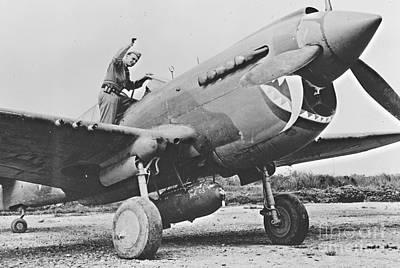 Warhawk P40 1943 Posters