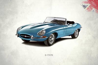 Jaguar E Type Posters